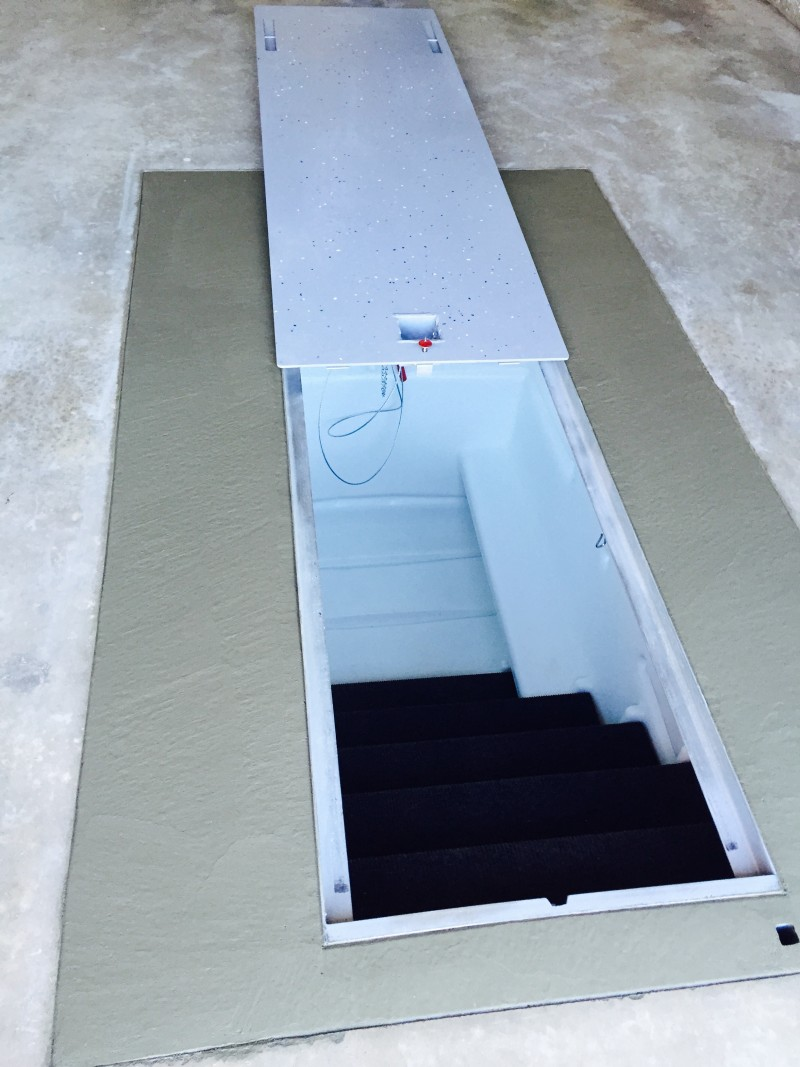 Boat Storm Shelter : High density polyethylene hdpe storm and tornado shelters