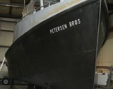 Coal Tar Epoxy Coating on Fishing Boat