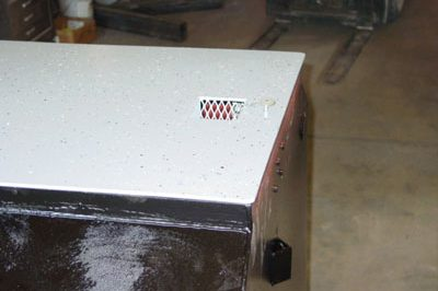 non corrosive storm shelter coating