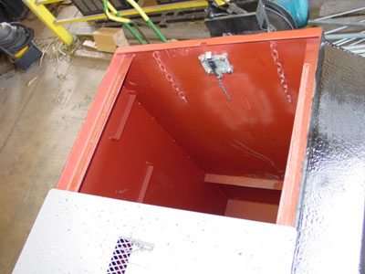 Coal Tar Epoxy Storm Shelter Coating