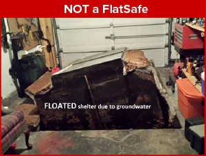 The difference with FlatSafe