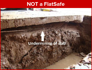Floating floor - not a flatsafe