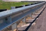 galvanized storm guardrail
