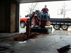 Mustang tornado sheler installation