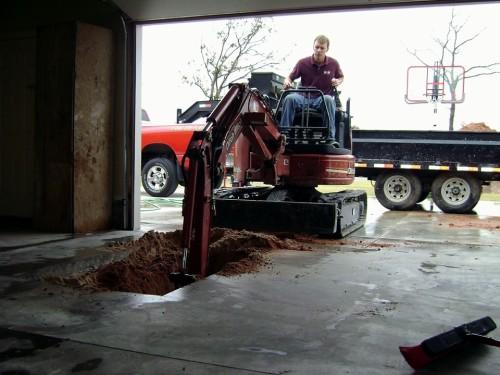 Yukon tornado sheler installation