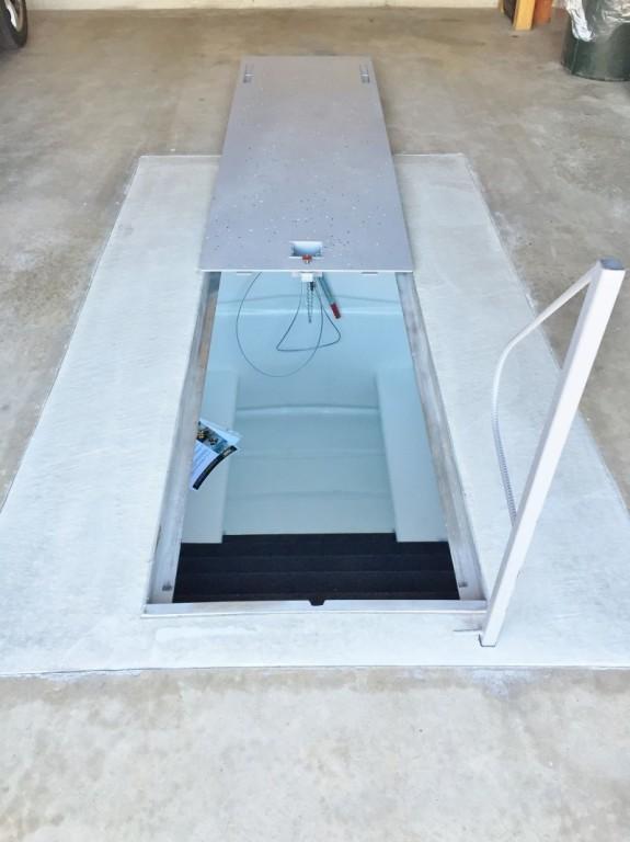 Guymon underground storm shelters