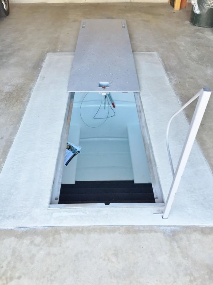 Newcastle underground storm shelters