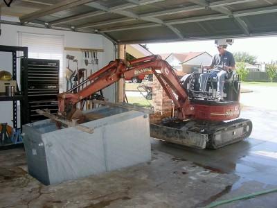 underground tornado shelters Warr Acres